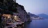 Amalfi Coastline At Night By Santa Caterina Hotel