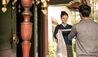 COMO Uma Bhutan : COMO Uma Paro - Traditional White Scarf Welcome