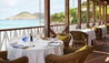 Cheval Blanc St-Barth Isle de France : La Case Restaurant