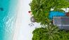OZEN at Maadhoo : Earth Villa Pavilion aerial view
