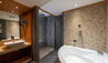 Chalet RoyAlp Hotel & Spa : Guest Bathroom