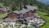 Chalet RoyAlp Hotel & Spa : Exterior in Summer
