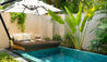 Huvafen Fushi : Beach Bungalow with Pool
