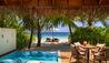 Huvafen Fushi : Deluxe Beach Bungalow with Pool