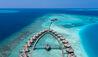 Huvafen Fushi : Overwater Accommodation Aerial