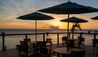 Fort Young Hotel & Dive Resort : Dining Terrace