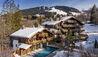 Les Chalets du Mont d'Arbois, Megève, A Four Seasons Hotel : Exterior