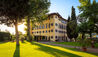 Villa La Massa : Noble Villa and Gardens at Sunset