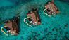 OZEN RESERVE BOLIFUSHI : Aerial View of Private Ocean Reserves with Slide