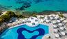 Mykonos Grand Hotel & Resort : Pool Aerial