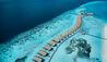 COMO Cocoa Island : Aerial Water Villas