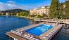 Villa d'Este : Pool and Cardinal Building