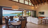 The Beach House : Living and Dining Room