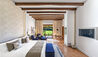The St. Regis Mardavall Mallorca Resort : Junior Suite Bedroom with Garden Access
