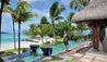 Shangri-La Le Touessrok Mauritius : Beach Villa - Terrace