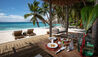 North Island : West Beach Bar Dining Area
