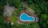 Lapa Rios Lodge : Swimming Pool Aerial
