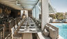 Vedema, a Luxury Collection Resort, Santorini : Pergola Restaurant