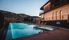 The Lodge at Blue Sky : Pool at Dusk