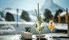 Riffelalp Resort 2222m : Drinks on the Terrace
