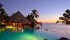 InterContinental Tahiti Resort and Spa : Sand Bottom Pool