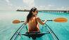 JOALI Maldives : Glass Bottom Kayak