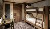 Six Senses Residences Courchevel : Bunk Beds