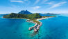 Conrad Bora Bora  Nui : Aerial View