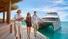Conrad Bora Bora  Nui : Arrival