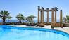 Villa Igiea, a Rocco Forte Hotel : Swimming Pool and Sea View