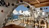 Kensho Ornos : Roof Top Restaurant & Lounge Area