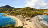 Rosewood Le Guanahani St Barths : General view - peninsula aerial
