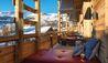 W Verbier : Living Room Terrace
