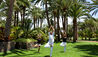 Seaside Palm Beach : Yoga In The Gardens